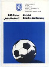 DDR-Liga 79/80 motor Fritz Heckert Karl-Marx-Stadt-activista brieske Senftenberg