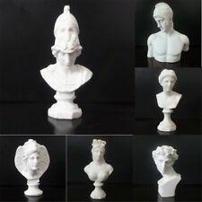 Resin Sculpture Drawing Sketch Plaster Bust Cast Figure Statue Model Art Decor