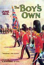 Garçons de 1913 possèdent la couverture de la parade de l'imprimé en couleur affiche A1/A2/A3