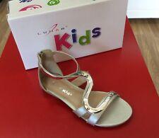 Lunar JCH003 Andie Junior Kids Girl Silver Sandals