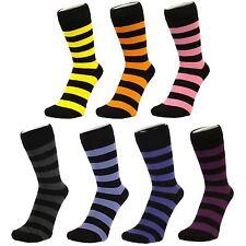 Grosse Strisce Alla caviglia Calze (Taglia: 4-7)