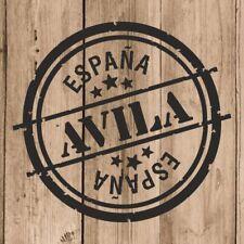 Vinilo de Corte Avila Pegatina Avila España 10 cm Adhesivo Pared Tablet Coche