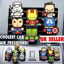 2x Marvel Avenger, Deadpool,Game Of Throne,Star Wars Car Air Freshener fragrance
