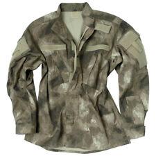 Ejército Táctico Acu Estilo Militar De Combate Hombres Camisa Airsoft Ripstop Mi