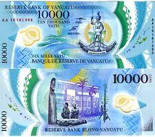 Vanuatu, 10000 (10,000) Vatu, 2010, POLYMER, AA-Prefix, P-13, UNC