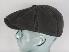 STETSON HATTERAS Organic Cotton Baumwolle Mütze Kappe Flatcap Cap grau NEU