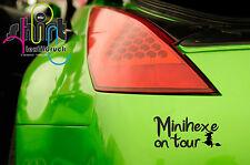 A 1403-Mini Sorcière on tour Witch Autocollant des Autocollants Sticker Tuning