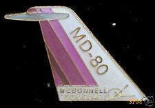 AUTHENTIC DC-80 DOUGLAS LOGO COMMERCIAL AIRPLANE PIN