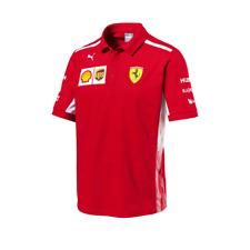 2018 Official Ferrari Team Polo Shirt - NEW