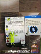 HeroClix Infinity Gauntlet - #007 Grandmaster + Mind Gem + Map