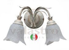 Lampe mural fer forgé 2 lampes Valastro Lighting