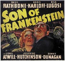 Son of Frankenstein (1939) Bela Lugosi Boris Karloff Horror movie poster 13
