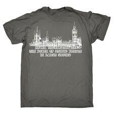 Ne Jamais Sous-Estimer la puissance de Gens Stupides T-shirt politique Cadeau Fête des Pères