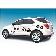 Aufkleber 8 teiliges Set  Katzenpfoten Pfoten Katze Pfote Autoaufkleber Sticker
