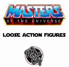 Vtg MOTU He-Man & New Adventures Loose Action Figures Vehicles Playsets 1980s