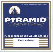 PYRAMID PURE NICKEL ROUND WOUND E-Gitarre Saiten SATZ E-Guitar Strings