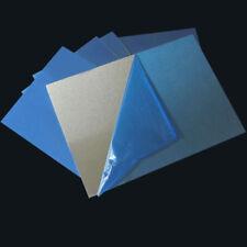 6061 Aluminium Sheet 0.5/1/2mm Thick 120x60mm 120x240 100x100 200x200 300x300mm