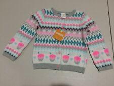 NWT Gymboree Ice Dancer Cupcake Sweater Cardigan Jacket Girls