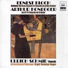ERNEST BLOCH / Arthur Honegger VIOLIN CELLO CD GERMAN IMPORT EXCELLENT