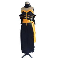 Fairy Tail Lucy Heartfilia Black Dress The Lion Nebula Version Cosplay Costume