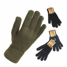 Para Hombre Práctico Térmica Guantes Invierno Dedo Completo cálido Knit Guante Varios Colores