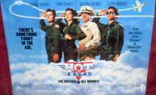 Cinema Poster: HOT SHOTS! 1991 (Quad) Charlie Sheen