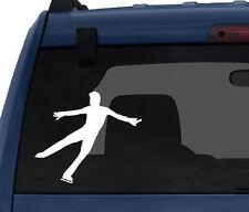 Sport Silhouette - Figure Skating Ice Skater - Car Tablet Vinyl Decal