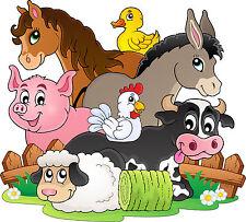 Adesivi murale bambino Animali della farm ref 3630