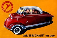 1955 Messerschmitt KR 200 #2 - Promotional Advertising Poster