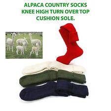 Alpaca calcetines 75% De Lana De Alpaca, Suave comodidad Largo Gruesa, Tiro, senderismo, escalada