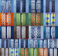 Shibori Curtains Tie Dye Indigo Window Sheer Curtain Handmade Door Drape 1 Panel