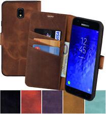 Samsung Galaxy J7 2018 (SM-J737) Hülle Book Style Leder Tasche Wallet Case Cover