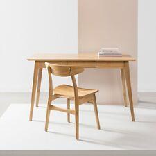 Jolanda Office Desk / Writing Table - Solid Oak - 130x70x76cm - Scandinavian