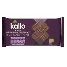 Kallo Organic Thin Slice Milk Chocolate Rice Cakes 90g
