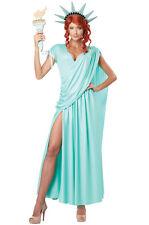 Lady Statue of Liberty America Adult Costume