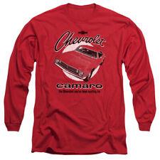 CHEVROLET RETRO CAMARO T-Shirt Men's Long Sleeve