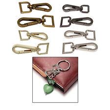Bag Clasps Lobster Swivel Trigger Clips Keyring Hook with D Ring DIY Dog Collars