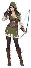 Adult Lady Robin Hood Renaissance Womens Costume
