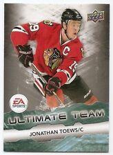 11/12 UPPER DECK EA ULTIMATE TEAM Hockey (#EA1-EA15) U-Pick from List