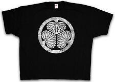 4XL & 5XL TOKUGAWA CLAN MON T-SHIRT - Oda Clan Ninja Samurai Shirt XXXXL XXXXXL
