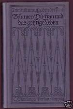 Gertrud Bäumer: la moglie e la vita mentale 1911..