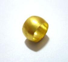 8.1 mm IDRAULICA OTTONE OLIVE TUBI TUBO Raccordo di compressione di un' oliva