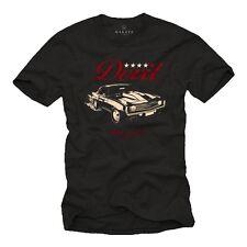 Oldtimer T-Shirt Herren Auto US Car Model Camaro Rockabilly Hot Rod schwarz Neu