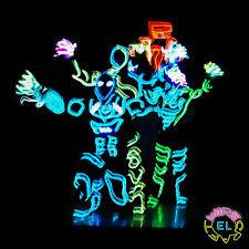 Atto di base di danza impostato = Trigger Driver + 5x 1m EL Wire + DRIVER-Neon Street Dance