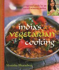India's Vegetarian Cooking by Bharadwaj, Monisha Paperback Book The Cheap Fast