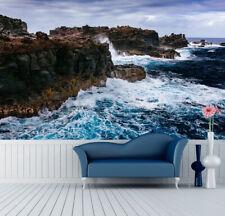 3D Rock L'eau 255  Photo Papier Peint en Autocollant Murale Plafond Chambre Art