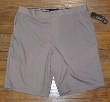Apt 9 Premier Flex Shorts Quick Dry Gel Waistband 4-Way Stretch Tan Hybrid Short