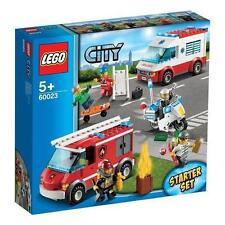 LEGO City Starter-Set (60023) rare free p+p NIB fire police ambulance age 5+