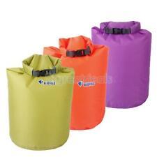 20/40/70 l waterproof canoë sac sec pour camping flottant nautique pêche kayak