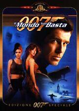 Dvd **AGENTE 007 • IL MONDO NON BASTA** con Pierce Brosnan nuovo 1999